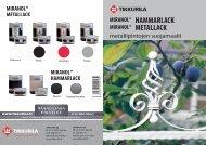 Miranol Hammarlack Ja Metallack - Tikkurila