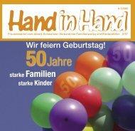 Hand in Hand 02/2007 - Albert-Schweitzer-Verband