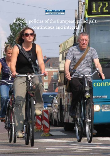 Bicycle policies of the European principals: continuous ... - Fietsberaad