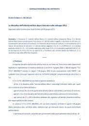 La disciplina dell'attività edilizia dopo il decreto sullo sviluppo 2011