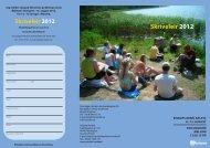 Skriveleir 2012 - Foreningen Norden