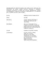 convocatoria 10k victoria 2012 - Atletismo en México