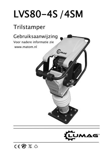 Trilstamper Lumag VS80G - Matom