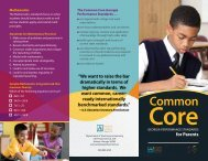 Common Core Brochure - Atlanta Public Schools