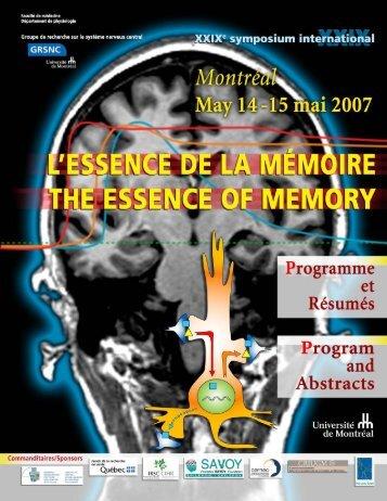pdf, 67 pages, 830 KB - GRSNC - Université de Montréal