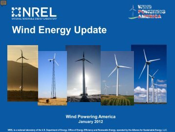 Wind Energy Update - Wind Powering America