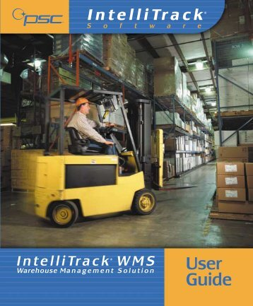 IntelliTrack WMS User's Guide