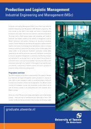 Production and Logistic Management