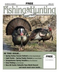 Volume 20, Number 9 - Fishing and Hunting Journal