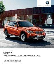 Catálogo y características técnicas (PDF) - Bmw