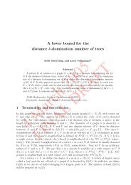 A lower bound for the distance k-domination number of trees