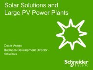PV energy - Schneider Electric