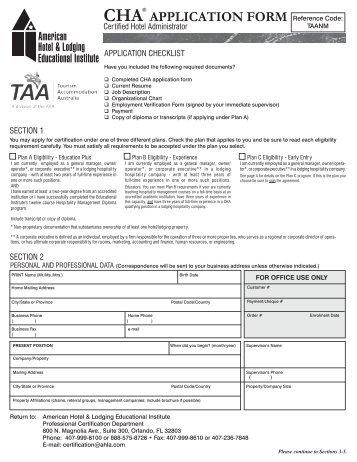 taa-non-member-cha-application-form-tourism-accommodation- Taa Application Form on for tranposta, lockheed electra,