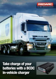 Product brochure BCDC Trucking - REDARC Electronics