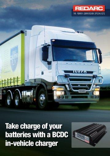 Product brochure BCDC Trucking - REDARC Electronics
