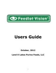 To get a copy of the Feedlot Vision Users Guide (version ... - Beeflinks