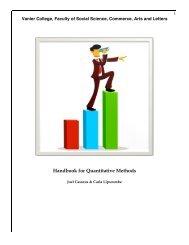 Handbook for Quantitative Methods