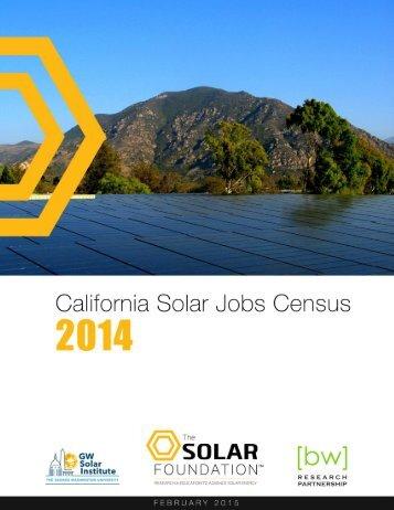 California-Solar-Jobs-Census-2014