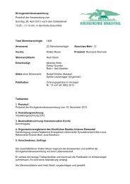 Protokoll KGV, 28. April 2013 - Evangelisch-reformierte ...