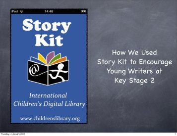 How We Used Story Kit to Encourage Young Writers at Key Stage 2
