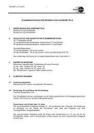 Mundidol ret. 20 mg Suspension - Mundipharma