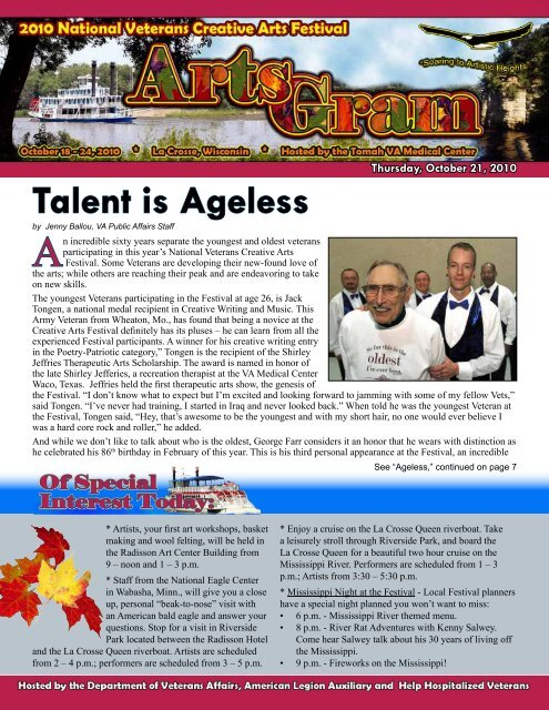 Talent is Ageless - US Department of Veterans Affairs