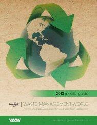 2013 media kit - Waste Management World
