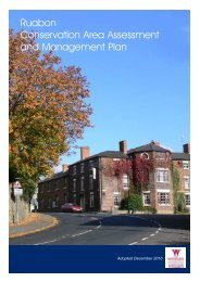 Conservation Area Assessments - Ruabon - PDF format 4.8Mb