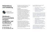 Worldwork - Institut Prozessarbeit