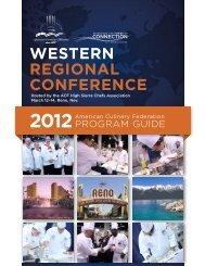 western regional conference - American Culinary Federation