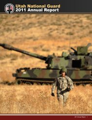Oct. 1, 2010 - Sept. 30, 2011 - Utah Army National Guard - U.S. Army