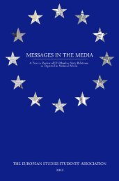 Messages in the Media - University of Toronto