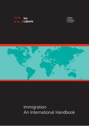Immigration An International Handbook