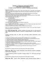 1 K 1. točki dnevnega reda: Sprejem predloga dnevnega reda 16 ...