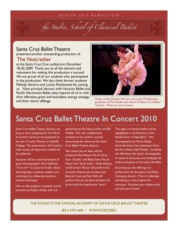 Studio winter 2010 newsletter
