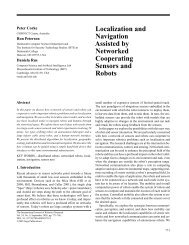 Localization and Navigation Assisted by Networked ... - CiteSeerX
