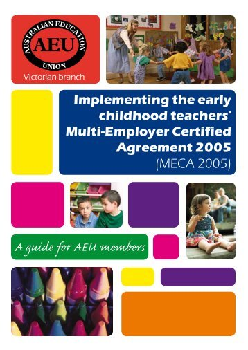 implementing the Early Childhood Teachers - Australian Education ...