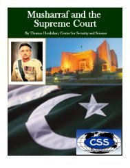 Musharraf and the Supreme Court of Pakistan - C4ss.net