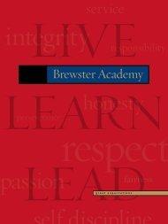 service - Brewster Academy