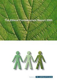 Ethical Consumerism Report 2005 - City of Cape Town