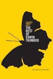The Best of Edwin Thumboo - Epigram Books