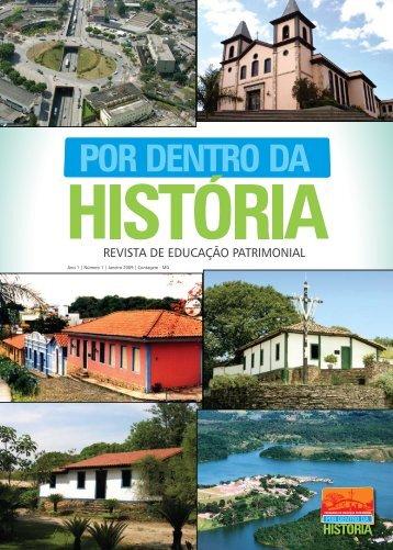 REVISTA DE EDUCAÇÃO PATRIMONIAL - Prefeitura de Contagem