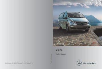 Mercedes-Benz Viano kezelési útmutató letöltése (PDF)
