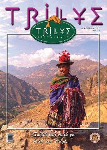 00Trilye sayi24 - Trilye Restaurant
