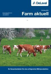Farm aktuell Frühling 2013 - DeLaval