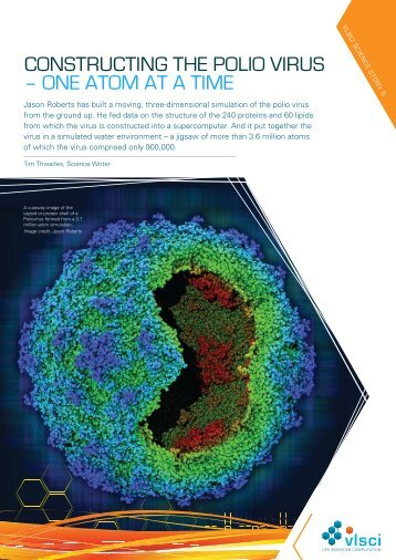 CONSTRUCTING THE POLIO VIRUS – ONE ATOM AT A TIME - vlsci