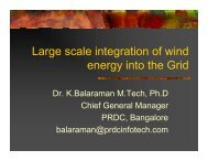Large scale integration of wind energy into the Grid - GERC
