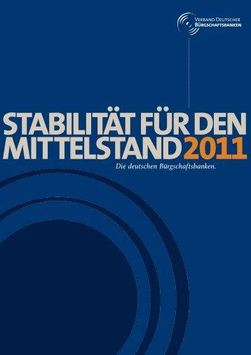 VDB_Verbandsbericht_2011 (pdf, 7 MB) - Verband Deutscher ...
