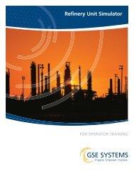 Refinery Unit Simulator - GSE Systems, Inc.