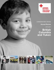 2010-2011 Annual Review (PDF, 617KB) - Croix-Rouge canadienne